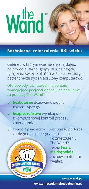 Wand - ulotka